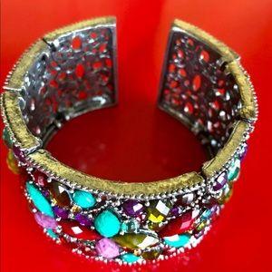 Colorful Gorgeous Sılver Color Bracelet